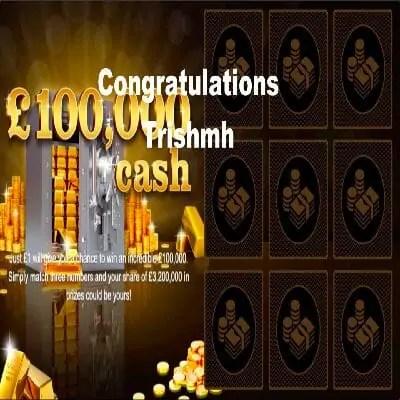 Daily Prize Draw Winner 21-12-2020