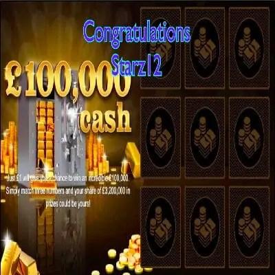 Daily Prize Draw Winner 23-12-2020