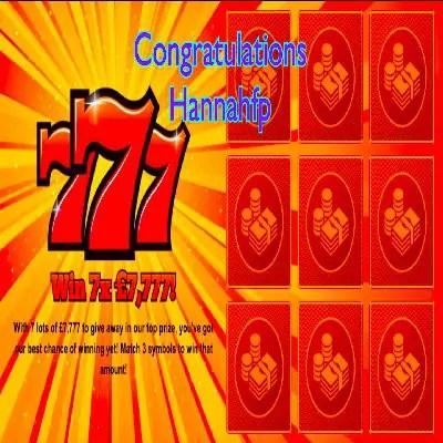 Daily Prize Draw Winner 25-12-2020