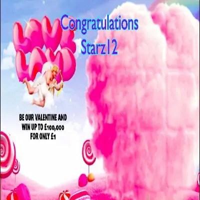 Daily Prize Draw Winner 23-01-2021