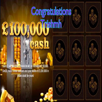 Daily Prize Draw Winner 17-02-2021