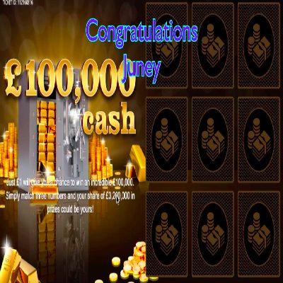 Daily Prize Draw Winner 23-03-2021