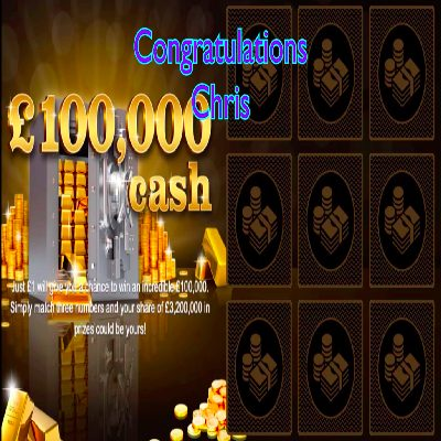 Daily Prize Draw Winner 26-03-2021