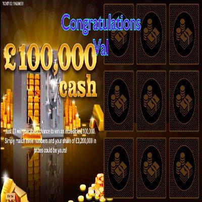 Daily Prize Draw Winner 24-04-2021