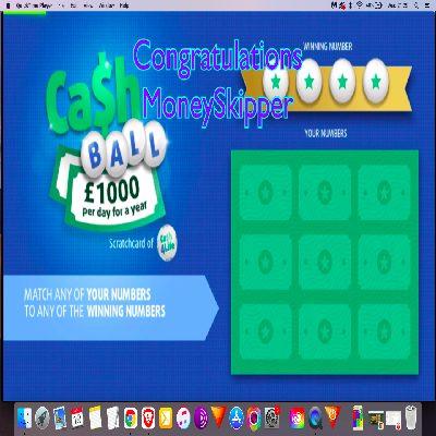 Daily Prize Draw Winner 27-04-2021