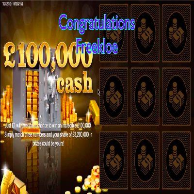 Daily Prize Draw Winner 05-05-2021
