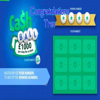 Daily Prize Draw Winner 15-05-2021