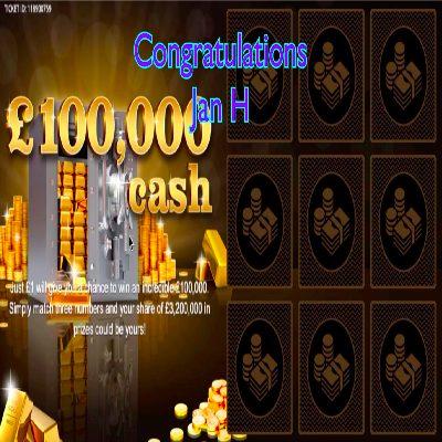 Daily Prize Draw Winner 23-05-2021