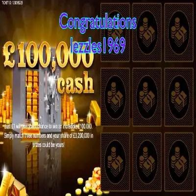 Daily Prize Draw Winner 04-06-2021