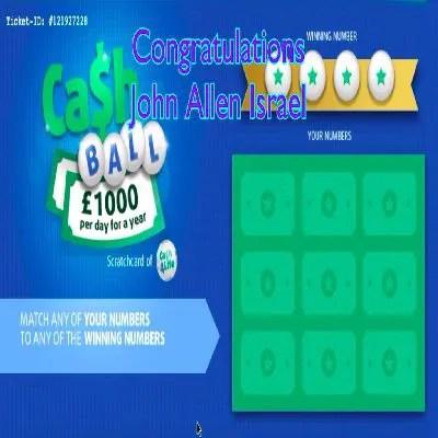 Daily Prize Draw Winner 26-08-2021