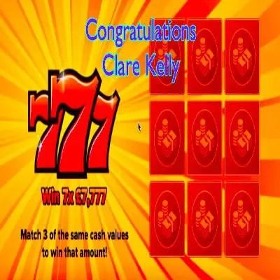 Daily Prize Draw Winner 20-09-2021