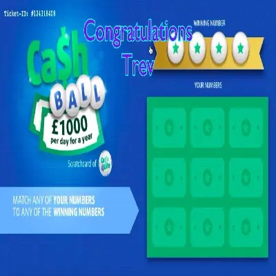 Daily Prize Draw Winner 09-10-2021