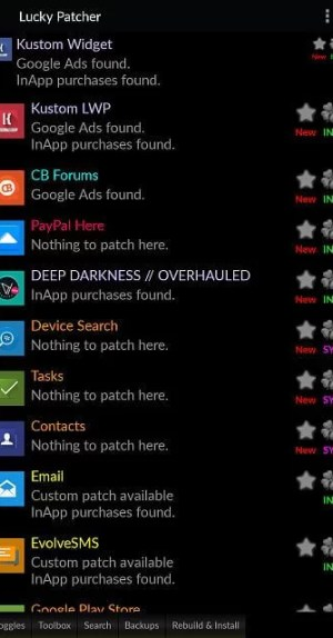 List of Installed Apps