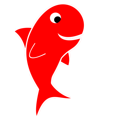 Lucky red fish
