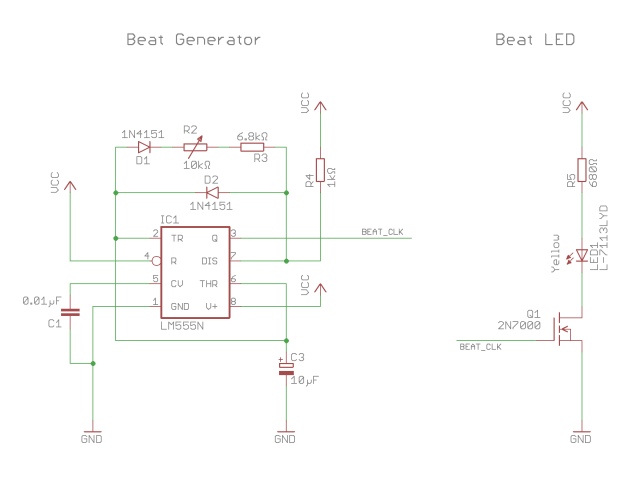 Outmoded Sequencer Beat Generator