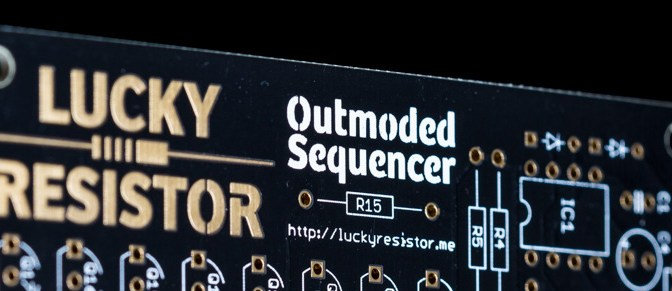 The Final Outmoded Sequencer PCB