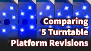 Comparing Five Turntable Platform Revisions