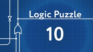 Logic Gates Puzzle 10