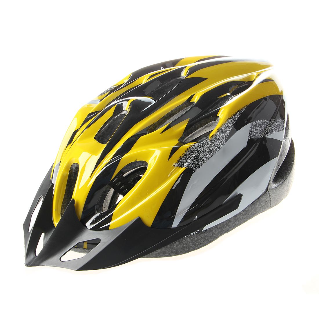 Yellow Black Mountain Road Bicycle Bike Cycling Safety