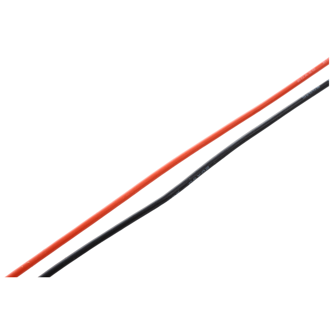 2x 3m 20 Gauge Awg Silicone Rubber Wire Cable Red Black