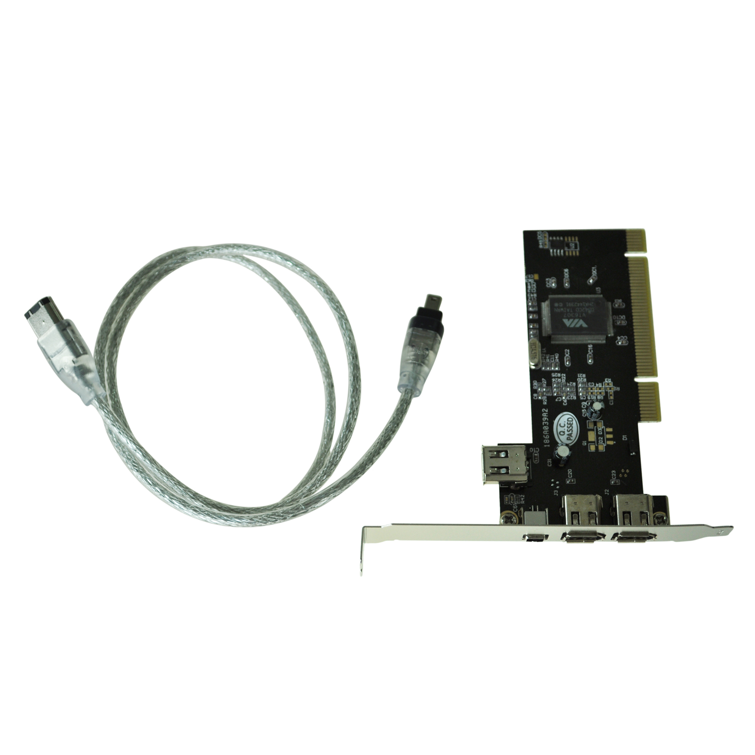 Pci Firewire Ieee 3 1 Port Card 4 6 Pin Cable Uk