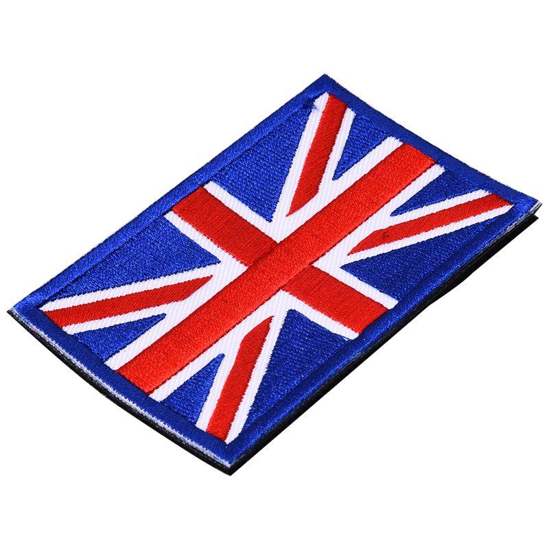 sammeln seltenes uniformen effekten national flagge stickerei 3d abzeichen patch armband ruckseite patches s6r6 1x erika lt