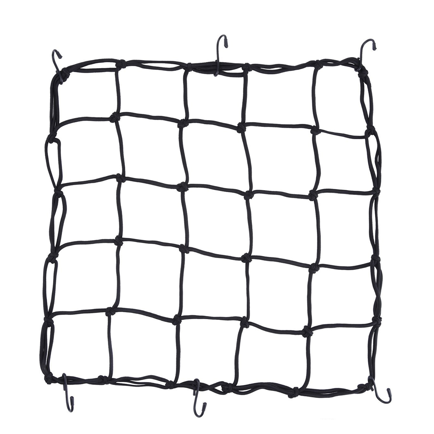 2 Pack Elasticated Cargo Nets Bicycle Motorcycle Luggage