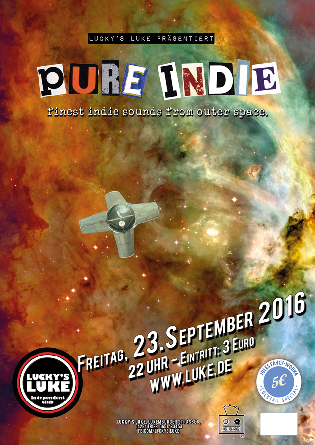 Pure Indie Poster September
