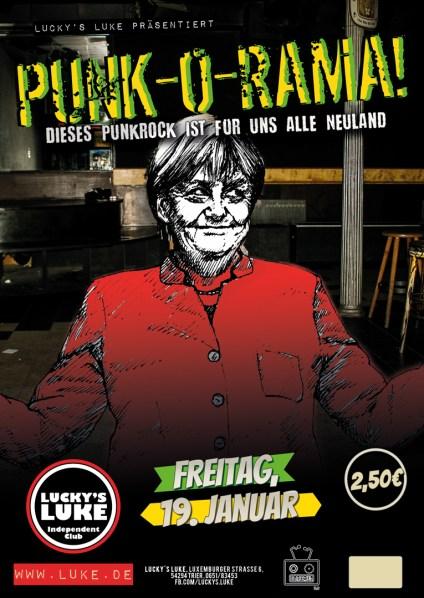 Punk O Rama Danke Merkel