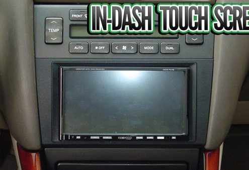 In-Dash Touch Screen Head Units