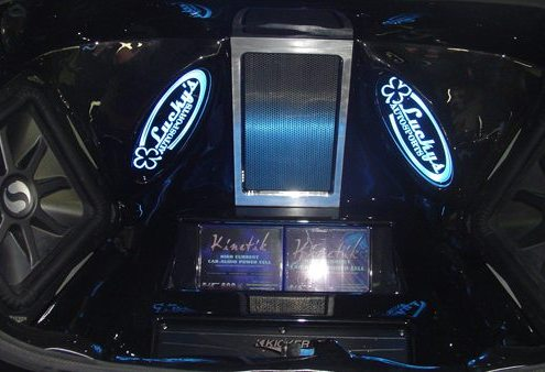 Custom Stereo Lighting Lucky's Autosports