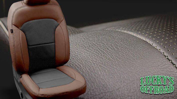 Custom Leather Seats Interior