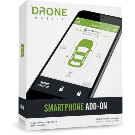 Dronemobile DR3400 Smart Phone Remote Start