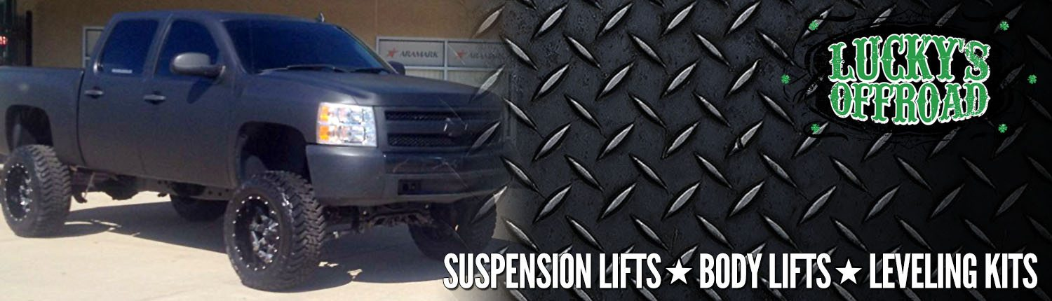 Suspension Lifts at Lucky's Off Road