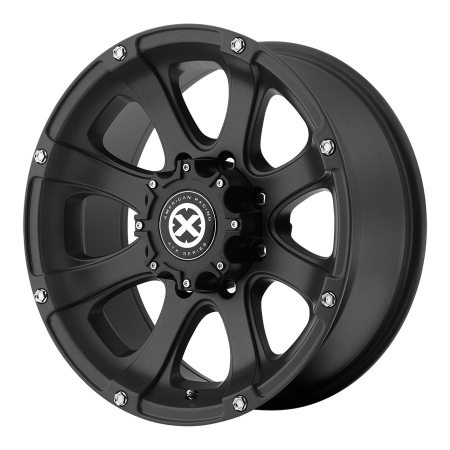 American Racing ATX Series Black AX188 Ledge Wheels