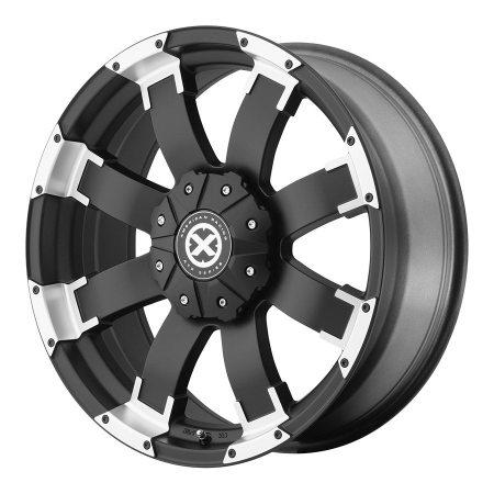 American Racing ATX Series Black AX191 Shackle Wheels