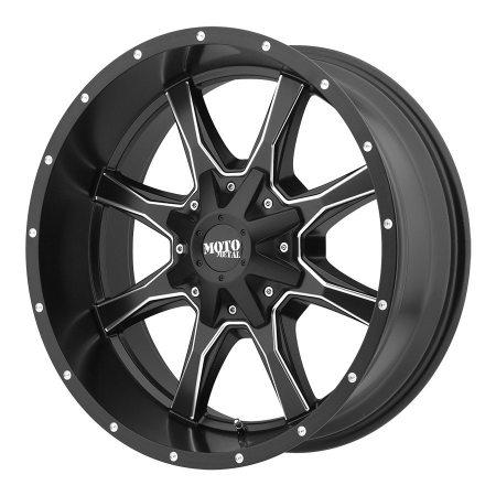 Moto Metal Black MO970 Wheels