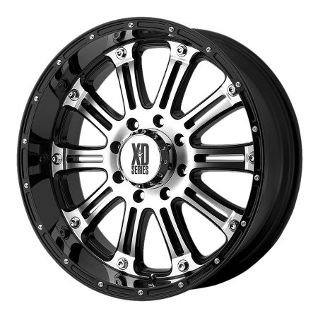 XD Series XD795 Hoss Machined Wheels