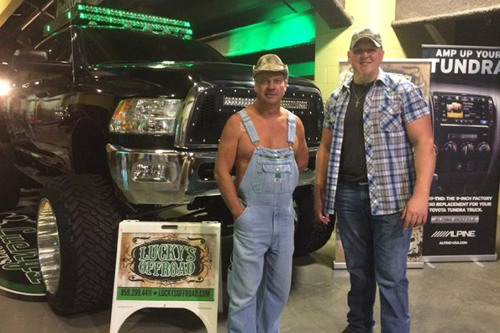 Moonshiners Show Lucky's Autosports