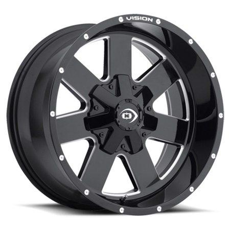 Vision Arc 411 Black Wheels