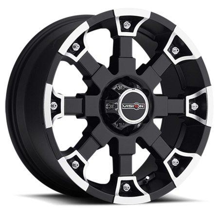 Vision Brutal 392 Black Wheels