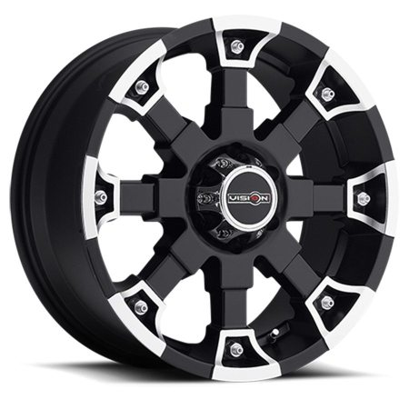 Vision Brutal 392 Black Wheels