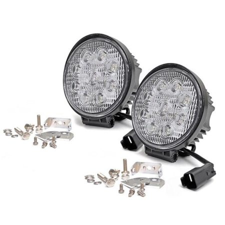 Rough Country 4-Inch Round LED Lights