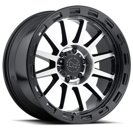 Black Rhino Wheels Revolution Black Machine Face