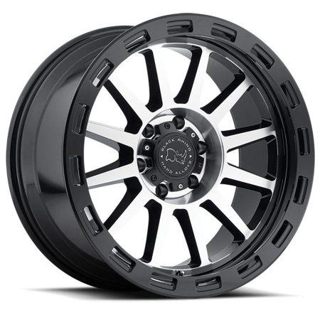 Black Rhino Wheels Revolution Black Machine Face