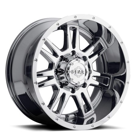 Gear Challenger 737V Chrome Truck Wheels