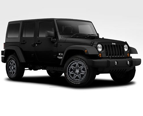 "Jeep Black Rhino Hammer 20"" Wheels"