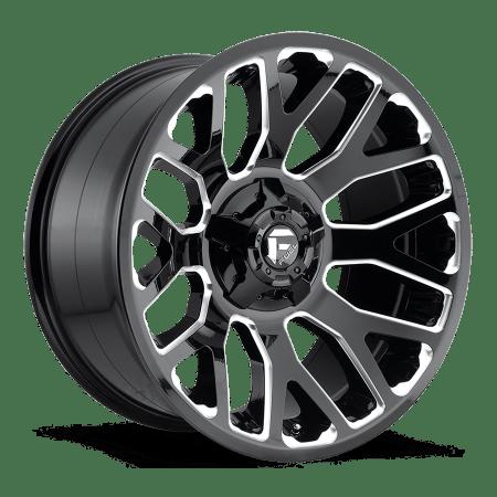 Fuel Warrior D607 Truck Wheels