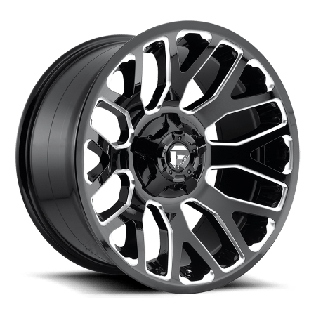 Fuel Warrior D607 Truck Wheels