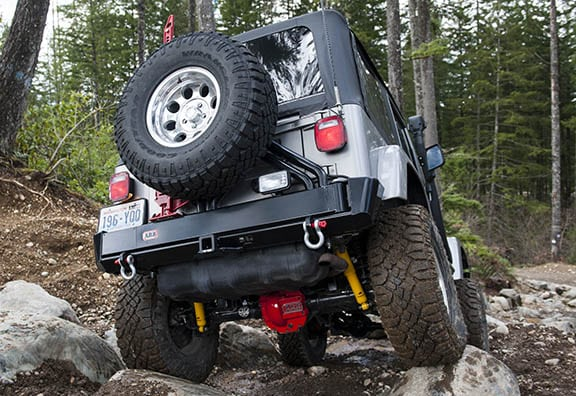 OME Jeep Wrangler Lift Kit